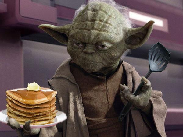 YODA'S HOUSE OF PANCAKES–May the 4th Be With You