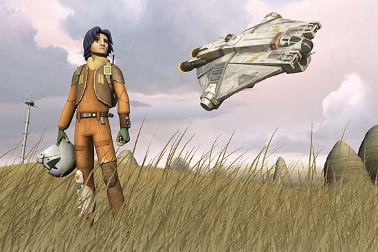 Introducing Ezra: Official Lucasfilm Press Release