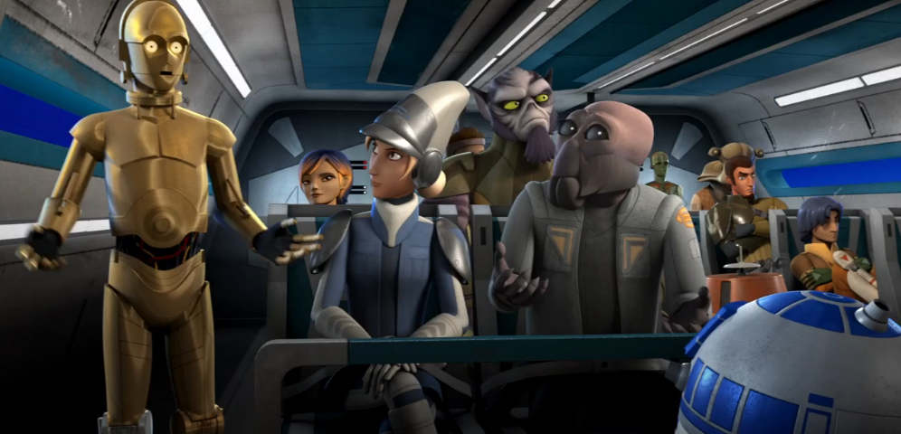 "Go Behind-the-Scenes of Star Wars Rebels ""Droids in Distress"""