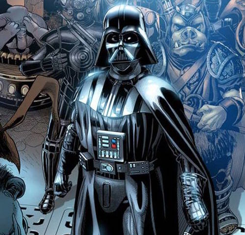 Here's a First Look at Marvel's 'Darth Vader'