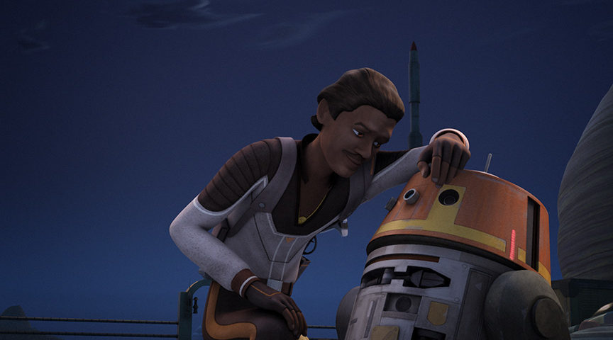Rebels Reminder: Billy Dee Williams Returns as Lando this Monday Night on DisneyXD