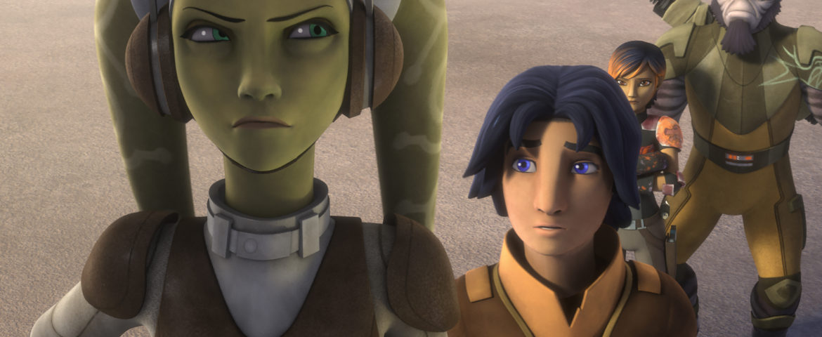 """Star Wars Rebels"" Two-part Season Finale Sneak Peek!"