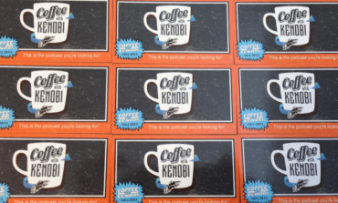 Celebration Podcasting Stage Exclusive! Get your Coffee With Kenobi Vintage Trading Card!