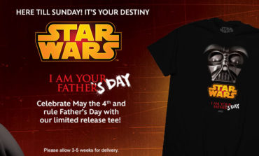 Check Out This Limited Edition Father's Day Star Wars Tee!