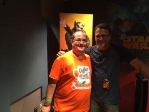 Steve Blum and I.
