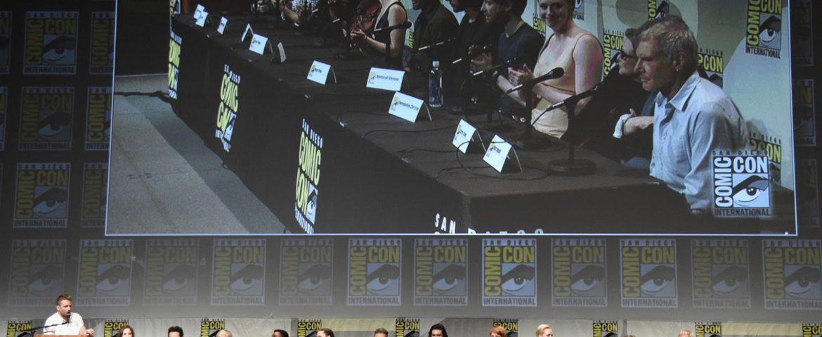 VIDEO: SDCC Interviews with the Cast of 'Star Wars: The Force Awakens'