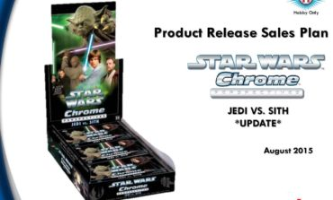New from Topps! Star Wars Chrome Perspectives: Jedi vs. Sith