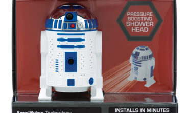 Product Review: Star Wars R2-D2 Shower Head by Oxygenics *UPDATED*