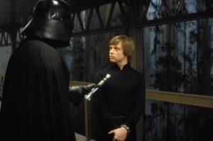 Vader and Luke the bridge