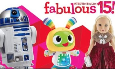 "Toys""R""Us Reveals the 2015 #TRUHotToyList -- Including Star Wars!"