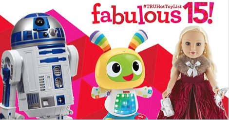 """Toys""""R""""Us Reveals the 2015 #TRUHotToyList — Including Star Wars!"""