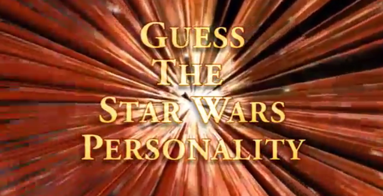 Star Wars Quiz – Guess The Personality