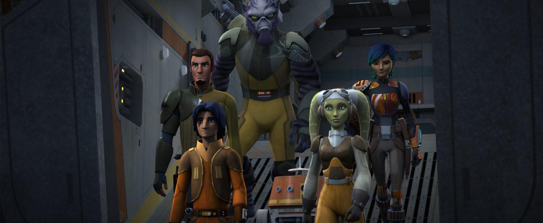 Star Wars Rebels Renewed for a Third Season!