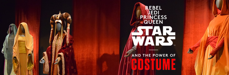 'Star Wars and the Power of Costume' Exhibit Opens at Discovery Times Square on November 14th; 20% Off Admission via CWK!