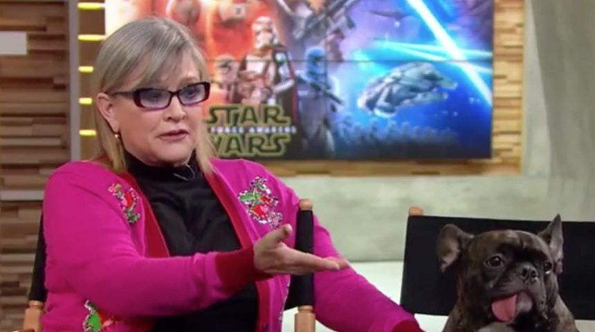 Carrie Fisher (and Gary!) on Good Morning America [Video]