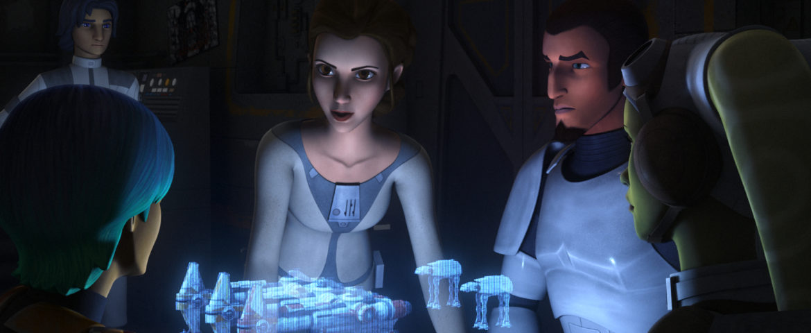Star Wars Rebels: Princess Leia to Make Her Debut January 20!