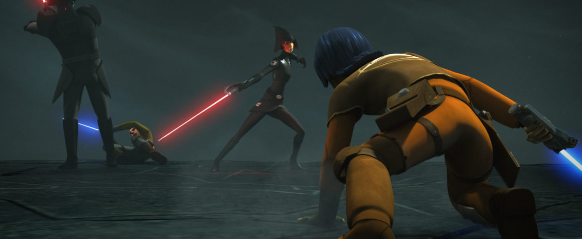 "Go Behind-the-Scenes with Star Wars Rebels: Rebels Recon for ""Shroud of Darkness"""