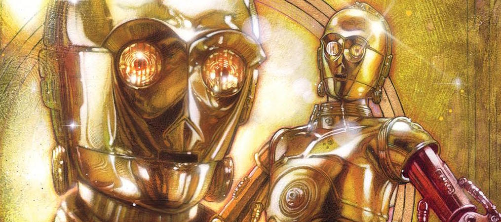 How Did C-3PO Get His Red Arm?! Your First Look at STAR WARS SPECIAL: C-3PO #1!