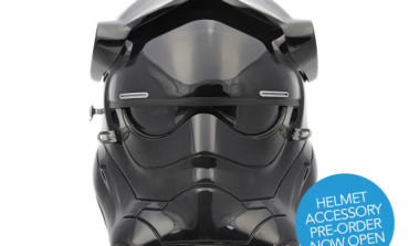 Pre-Order the NEW Premier Line First Order TIE Pilot Helmet from ANOVOS