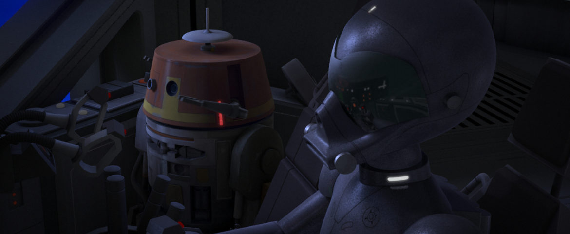 """Go Behind-the-Scenes with Star Wars Rebels: Rebels Recon for """"The Forgotten Droid"""""""