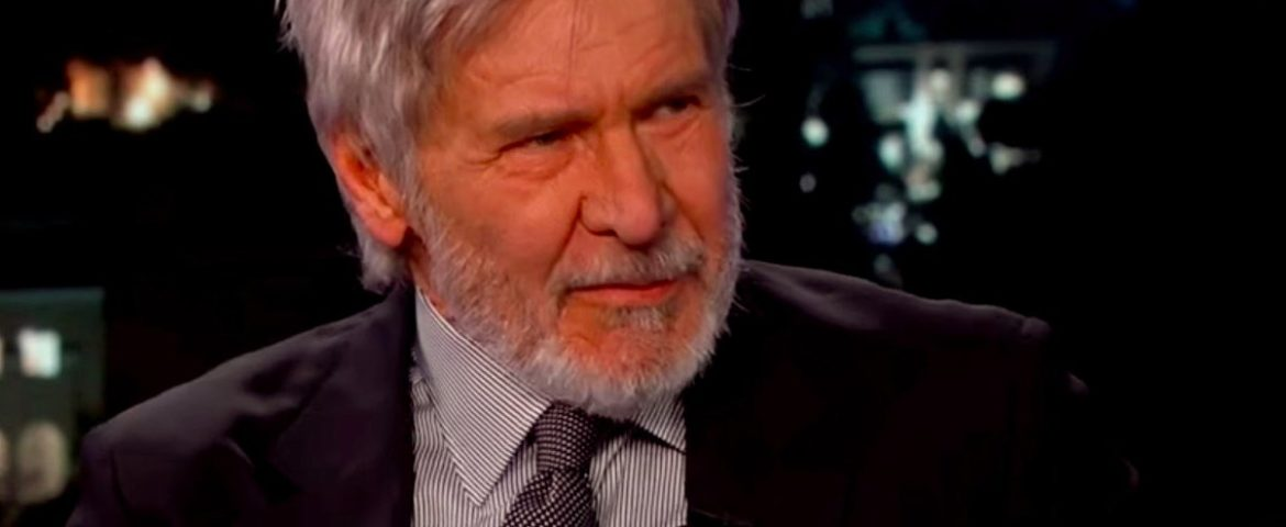 Harrison Ford Making the Talk Show Circuit [Videos]