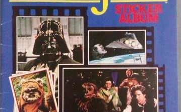 Star Wars Stickers - It's Taken Over 30 Years But I've Completed An Album