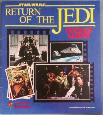 Star Wars Stickers – It's Taken Over 30 Years But I've Completed An Album