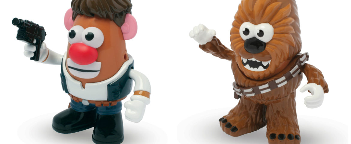 Announcing NEW Star Wars Mr. Potato Head Han Solo and Chewbacca PopTaters