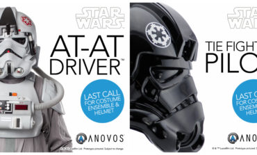 Last Call for Original Trilogy AT-AT Driver and TIE Pilot Costumes from ANOVOS