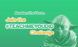 Join the #TeachMeYouDid Challenge for Star Wars Day!