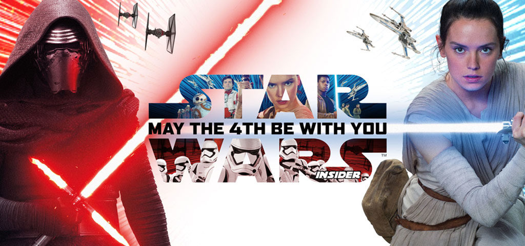 Star Wars Day Promotions from Star Wars Insider Magazine!
