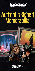 September Deals on Star Wars Signed Memorabilia and More from Steiner Sports!