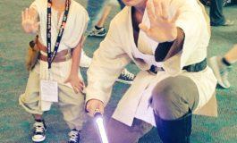 My First Jedi Cosplay - San Diego Comic-Con 2016