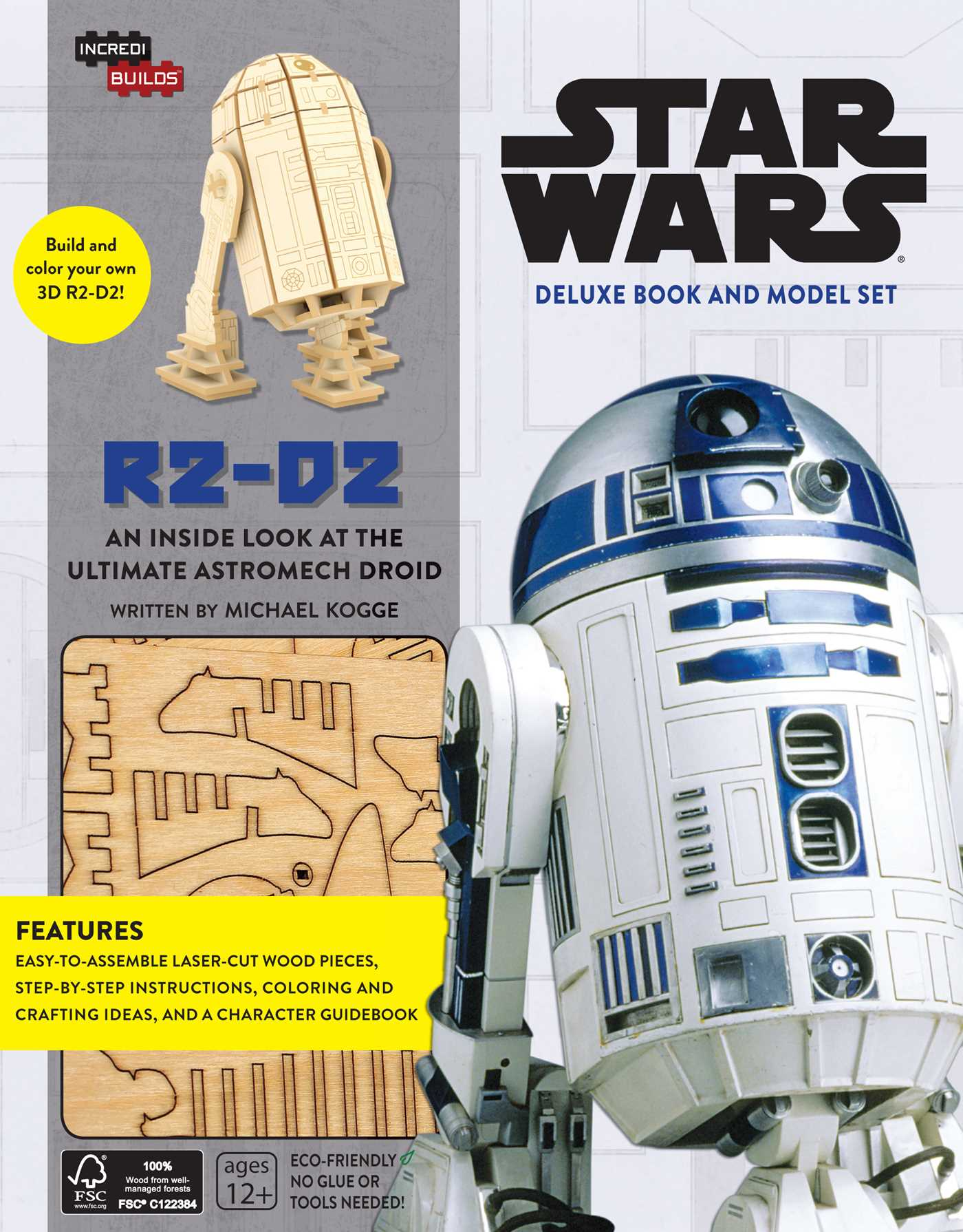 Book Review Incredibuilds Star Wars R2 D2 Deluxe Book And Model