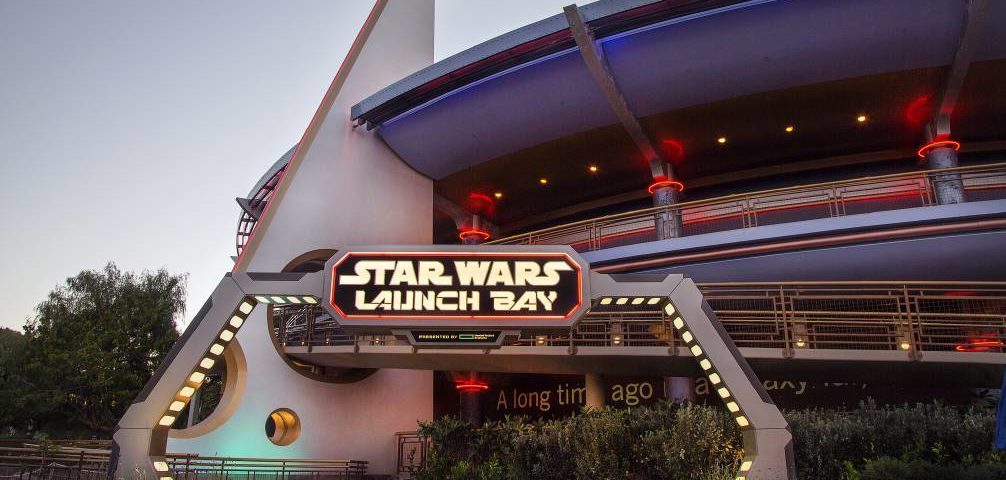 A Closer Look at the Disneyland Star Wars Launch Bay