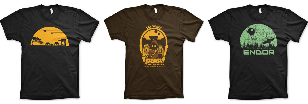 Star Wars T-shirts from Guerrilla Tees Review