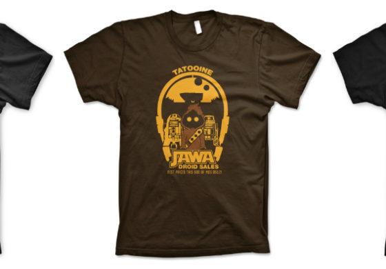 Star Wars T-shirts from Guerrilla Tees Review