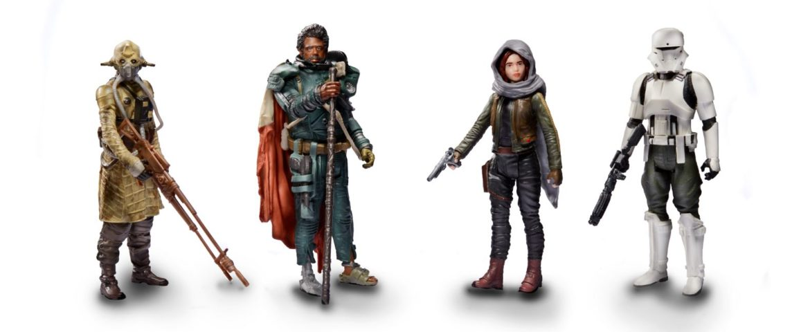 NEW Hasbro Rogue One: A Star Wars Story 3.75 Inch Jedha Revolt 4-Pack