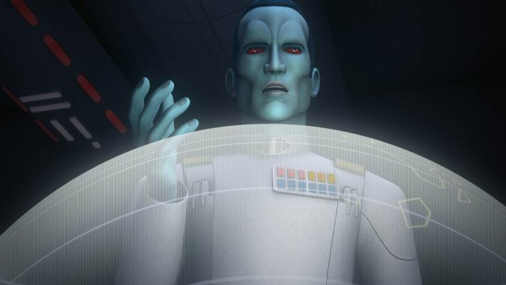 New Star Wars Rebels Season 3 Preview – Enter Thrawn!