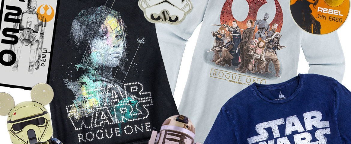 #GoRogue with Rogue One Merchandise at Disney Parks Starting September 30