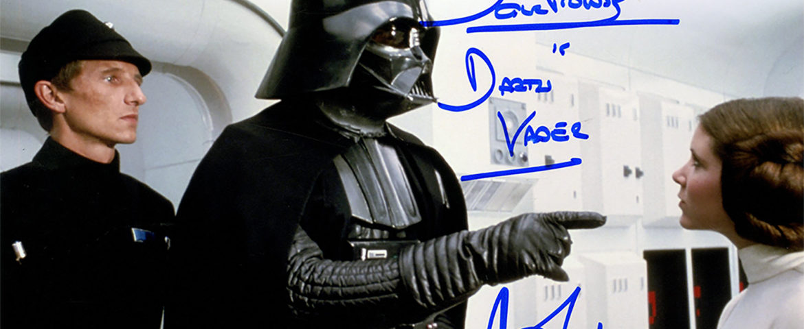 October Deals on Signed Star Wars Memorabilia and More at Steiner Sports!