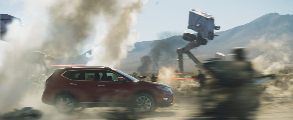 "Nissan Launches New TV Commercial and Sweepstakes in Support of ""Rogue One: A Star Wars Story"""