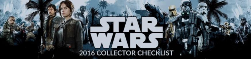 #GoRogue 2016 Collector Checklist from Hasbro