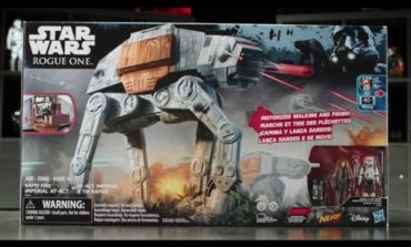 Star Wars Rapid Fire Imperial AT-ACT -- Hasbro Designer Desk Video