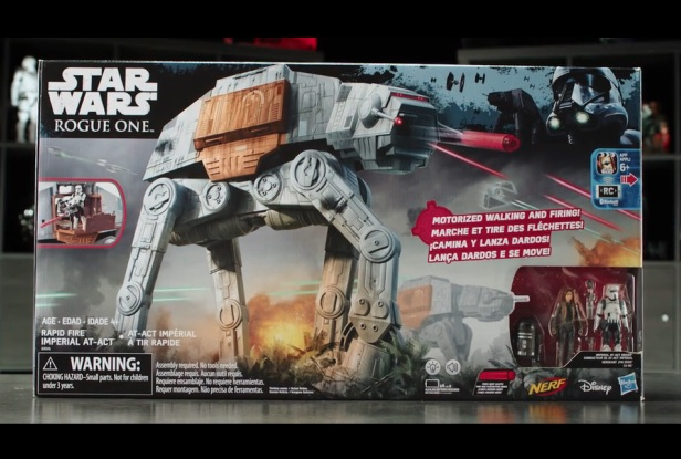 Star Wars Rapid Fire Imperial AT-ACT — Hasbro Designer Desk Video