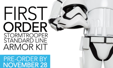 Star Wars First Order Stormtrooper Armor Kit: PRE-ORDER BY NOV 28 FOR BEST PRICING!