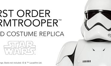 Introductory STAR WARS First Order Stormtrooper Armor Kit Pricing Ends Soon; New Pre-Orders Available!