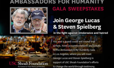 Enter The Ambassadors for Humanity Gala Sweepstakes and You Could Meet George Lucas and Steven Spielberg!