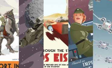 "PULSE GALLERY EXCLUSIVE: Steve Thomas Star Wars ""VINTAGE TRAVEL POSTER"" Series Now Available"