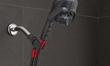 Enter to Win a Darth Vader Handheld Shower Head from Oxygenics!